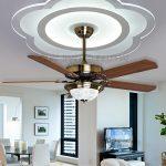 Top 10 quạt trần đèn đẹp lắp cho chung cư trần thấp tin dùng nhất