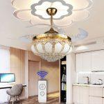 Quạt trần đèn chùm vip nhất chỉ dành cho nhà đẹp hiện đại